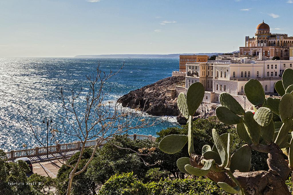 Localit turistiche del salento vacanze salento - Piscina sulfurea santa cesarea terme ...